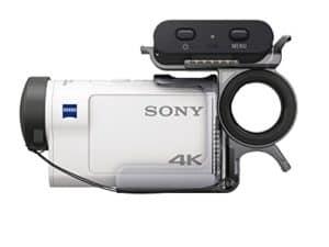 Sony FDR-X3000RFDI seitlich