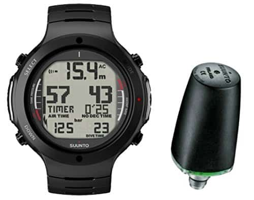 Suunto D6i ALL BLACK STEEL mit Sender