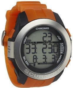 Scubapro Chromis Tauchcomputer – schwarz/orange