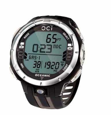 Oceanic Oci Tauchcomputer. Armbandmodell. mit USB-Kabel – ohne Sender- titanium