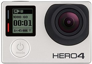 GoPro HERO4 Silver Front