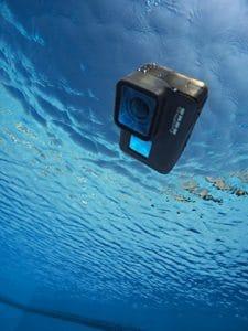 GoPro HERO5 Black im Wasser