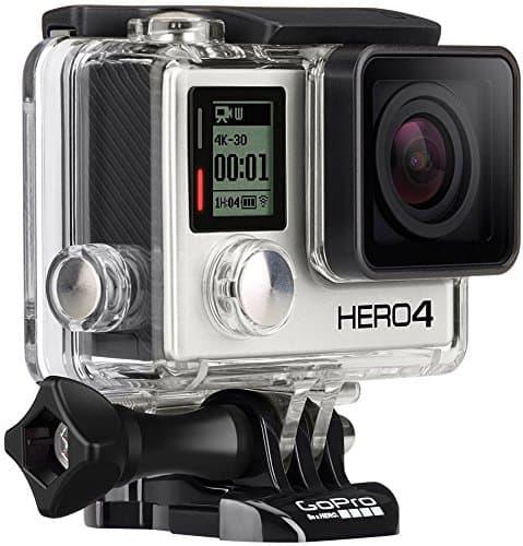 gopro hero4 black actioncam 4k 30 fps bis 40 meter wasserdicht. Black Bedroom Furniture Sets. Home Design Ideas