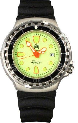 Profi Taucher Uhr Helium Ventil T276
