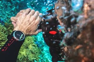Suunto D5 unter Wasser