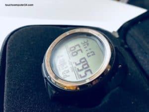 Cartesio Cressi Tauchcomputer Uhrenformat